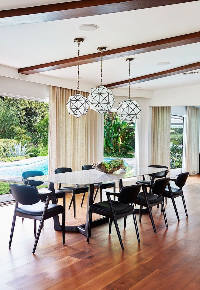 10 Marvelous Modern Glass Dining Tables to Inspire You Today ➤ Discover the season's newest designs and inspirations. Visit us at www.moderndiningtables.net #diningtables #homedecorideas #diningroomideas @ModDiningTables