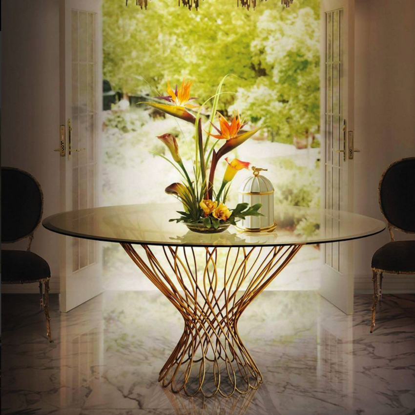 10 Remarkable Dining Tables That Will Steal Your Neighbors' Attention ➤ Discover the season's newest designs and inspirations. Visit us at www.moderndiningtables.net #diningtables #homedecorideas #diningroomideas @ModDiningTables dining tables 10 Remarkable Dining Tables That Will Steal Your Neighbors' Attention 10 Remarkable Dining Table Ideas That Will Steal Your Neighbors    Attention 3