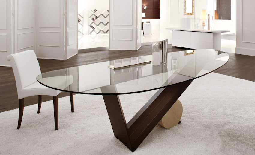 10 Remarkable Dining Table Ideas That Will Steal Your Neighbors' Attention ➤ Discover the season's newest designs and inspirations. Visit us at www.moderndiningtables.net #diningtables #homedecorideas #diningroomideas @ModDiningTables dining tables 10 Remarkable Dining Tables That Will Steal Your Neighbors' Attention 10 Remarkable Dining Table Ideas That Will Steal Your Neighbors    Attention 8