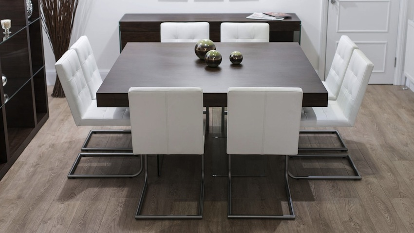 Contemporary Espresso Dining Chairs