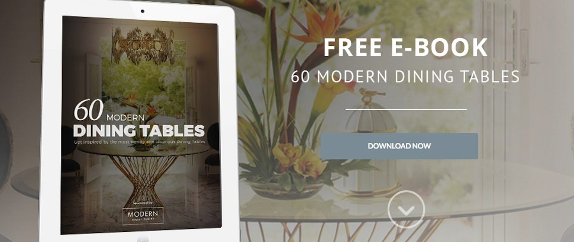 [Free eBook] Get Inspired with these 60 Modern Dining Tables Ideas ➤ Discover the season's newest designs and inspirations. Visit us at www.moderndiningtables.net #diningtables #homedecorideas #diningroomideas @ModDiningTables