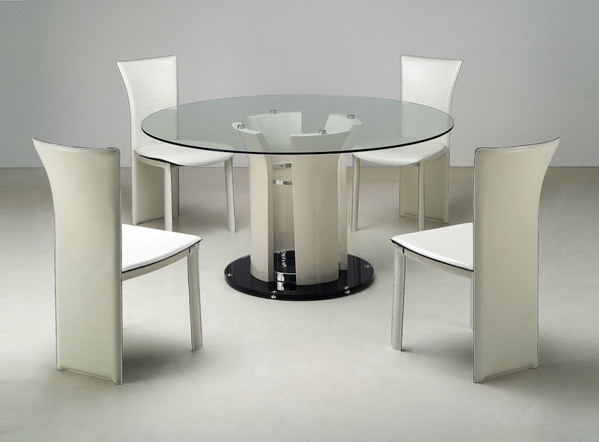 Merveilleux Sleek Round Glass Dining Tables That Make A Stylish Impression ➤ Discover  The Seasonu0027s Newest Designs