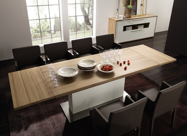 best-modern-dining-table-15 dining tables Dining Tables and Chairs Set Design Ideas To Get Inspired best modern dining table 15