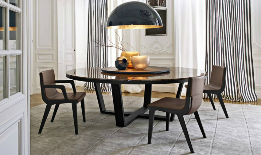 round table round dining table 5 Round Dining Table XILOS 1