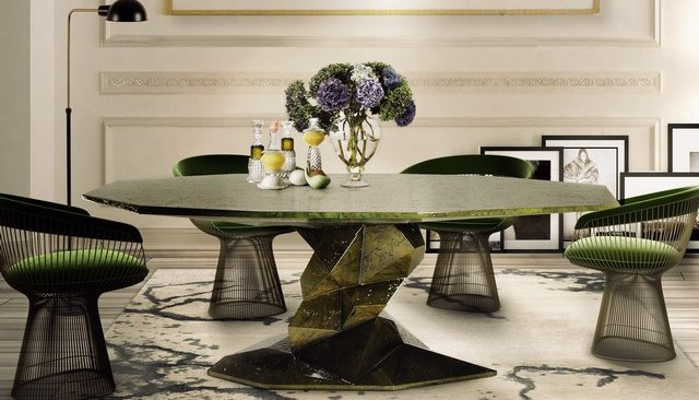 bonsai dining table dining table 14 Modern Dining Tables To Be Inspired By bonsai