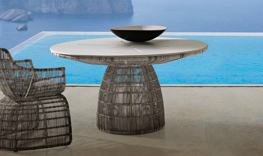 round table round dining table 5 Round Dining Table crinoline tavoli 1