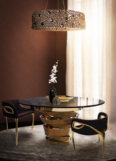 intuition dining table dining table 14 Modern Dining Tables To Be Inspired By intuition
