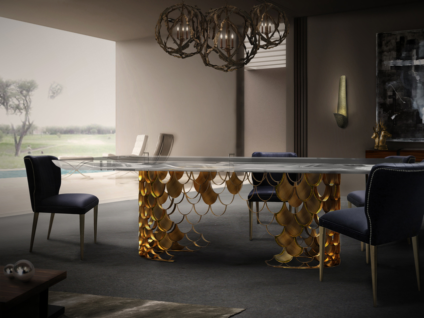 dining table hospitality Modern Dining Tables for Hospitality Interior Design koi brabbu