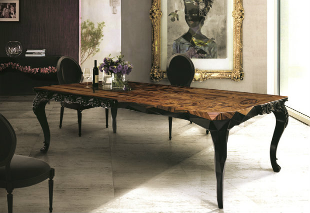 royal dining table 14 Modern Dining Tables To Be Inspired By royal