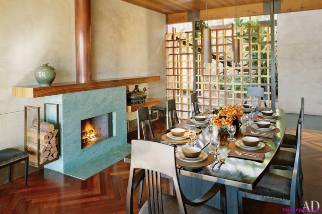 10-stunning-celebrity-dining-rooms-to-be-inspired-by-demi-moore-and-ashton-kutcher celebrity dining rooms 10 Fabulous Celebrity Dining Rooms to Be Inspired By 10 Stunning Celebrity Dining Rooms to Be Inspired by Demi Moore and Ashton Kutcher