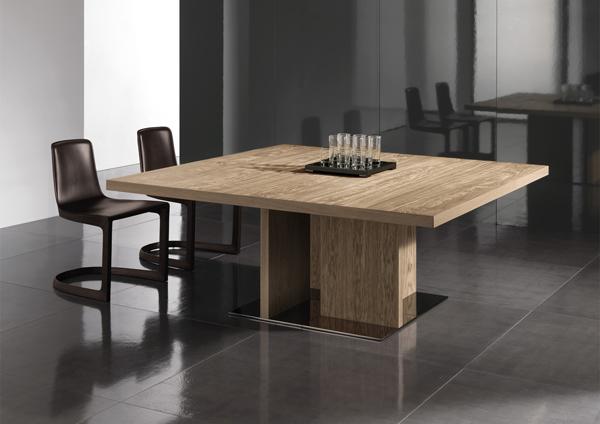 11-minotti-squares square oak dining tables 10 Fabulous Square Oak Dining Tables 11 Minotti Squares