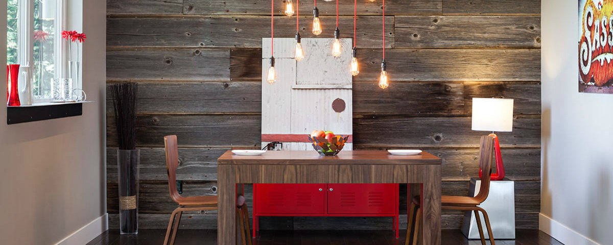 How To Merge Reclaimed Wood Into Your Dining Room