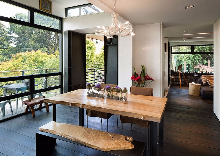 15 Live-Edge Dining Table 15 Natural Live-Edge Dining Tables 15