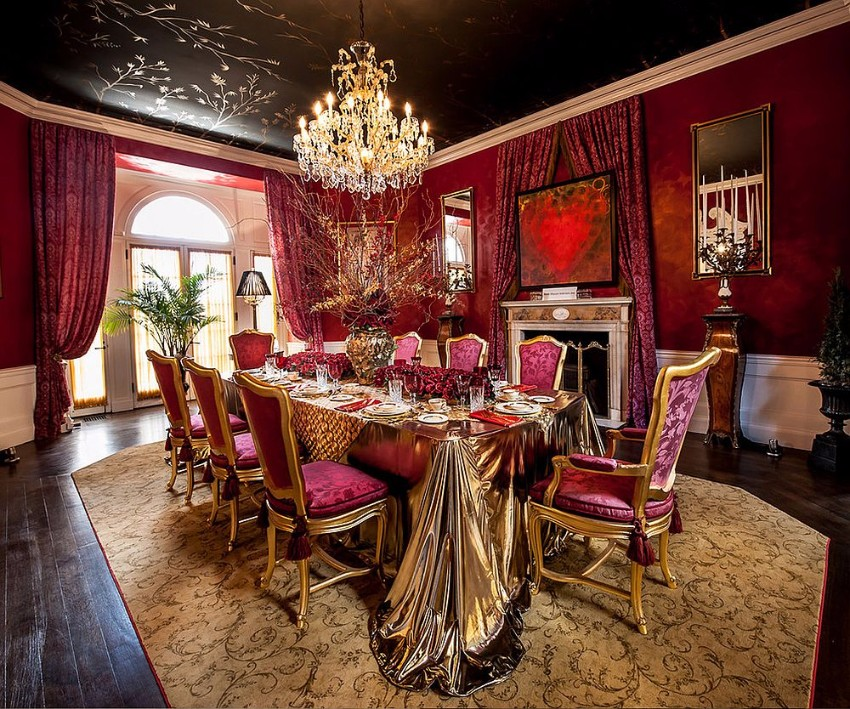 Victorian Era Dining Room