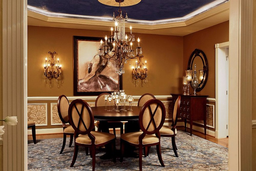 charming-dining-room-brings-hollywood-regency-glam-to-a-victorian-setting victorian 10 Superb Victorian Dining Rooms  Charming dining room brings Hollywood Regency glam to a Victorian setting