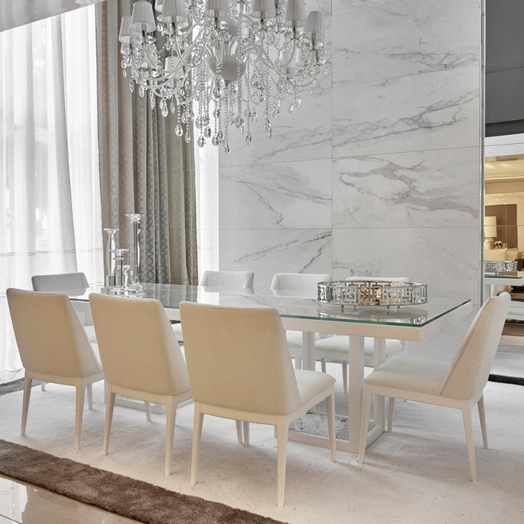 Luxury dining tables ideas for Large dining room design