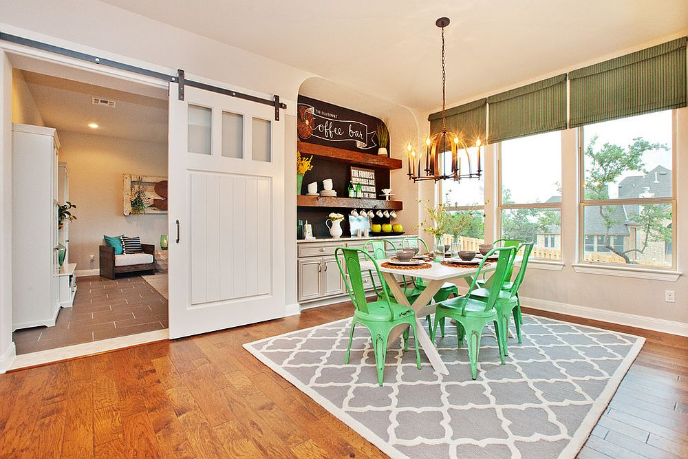of 14 dining rooms with sliding doors dining room with bright green