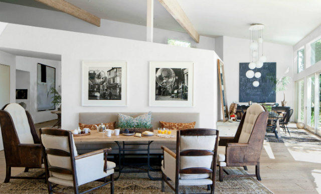 patrick-dempseys celebrity dining rooms 10 Fabulous Celebrity Dining Rooms to Be Inspired By Patrick Dempsey   s