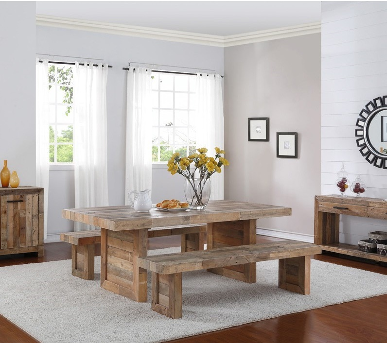 Reclaimed Wood How To Merge Into Your Dining Room Angora