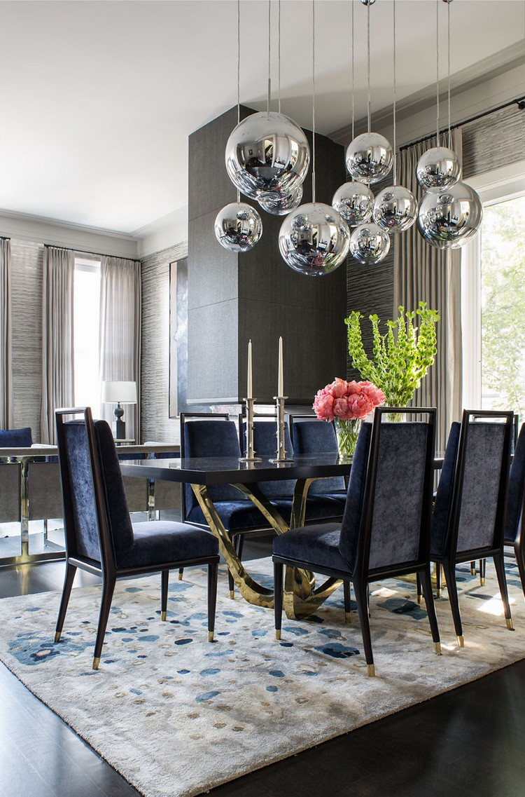 bue dining room - Luxury Dining Table And Chairs