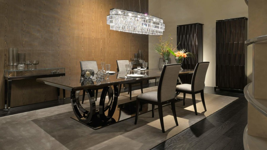 luxury brands  luxury brands 10 Outstanding Dining Room Tables by Top Luxury Brands dining table