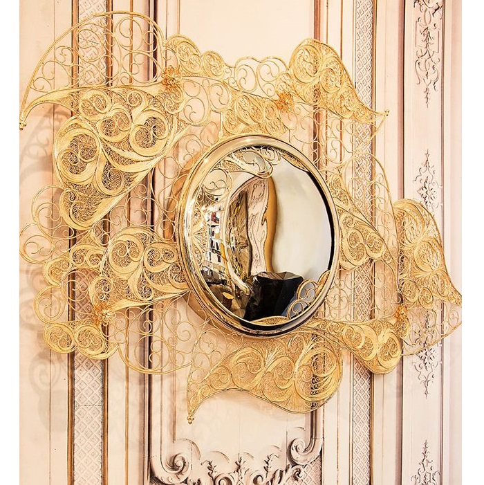 filigree mirror mirror The Best Mirrors for Your Dining Room filigree
