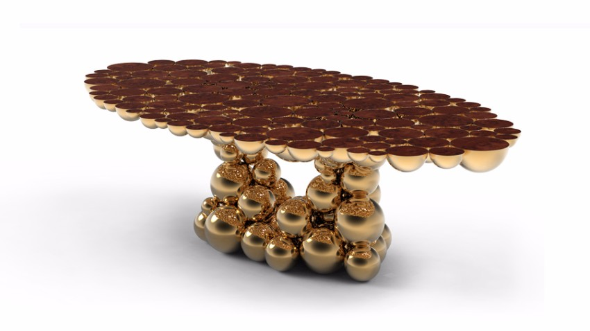 gold-4 Newton Newton – The Perfect Dining Table for a Modern Dining Room gold 4
