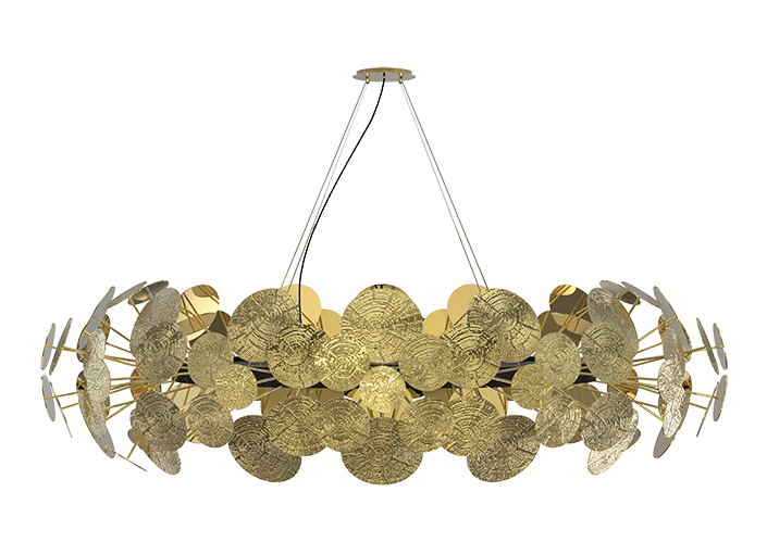 newton-chandelier boca do lobo Dining Room Decor Ideas From Boca Do Lobo newton chandelier