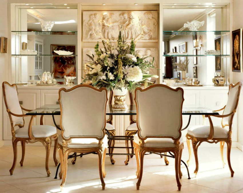 por mirror The Best Mirrors for Your Dining Room por