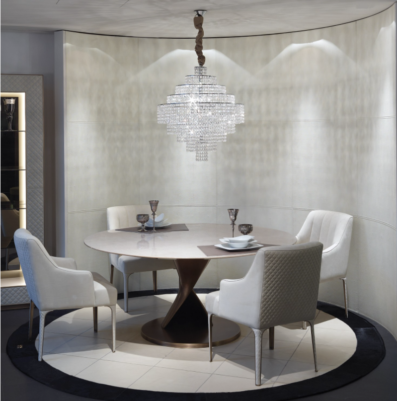 10 outstanding dining room tables by top luxury brands for Expensive dining tables