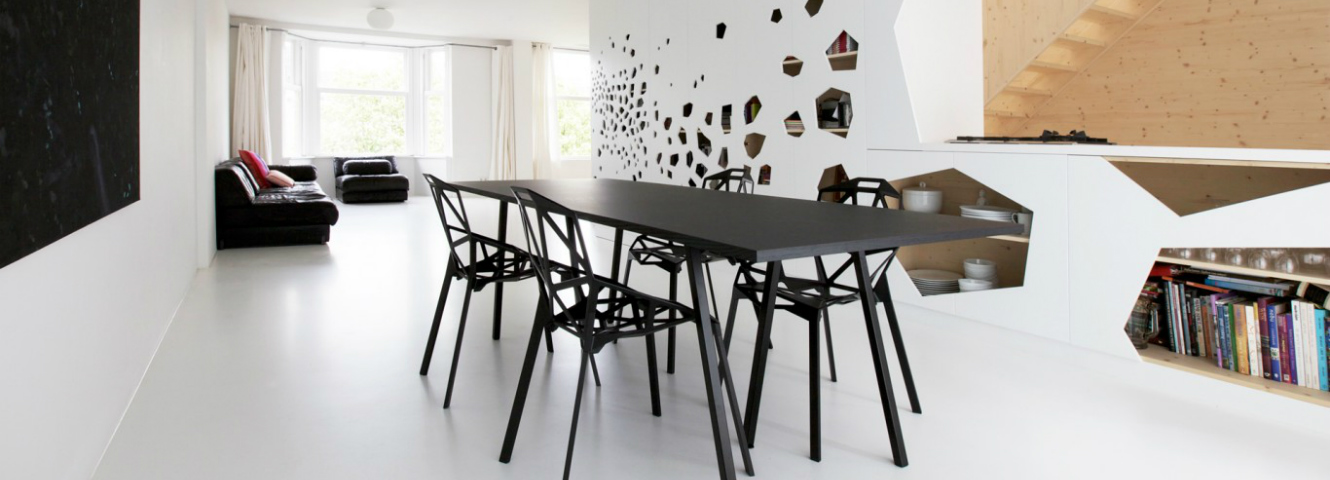 15 minimalist dining room ideas decoration tips for clean for Minimalist house essentials