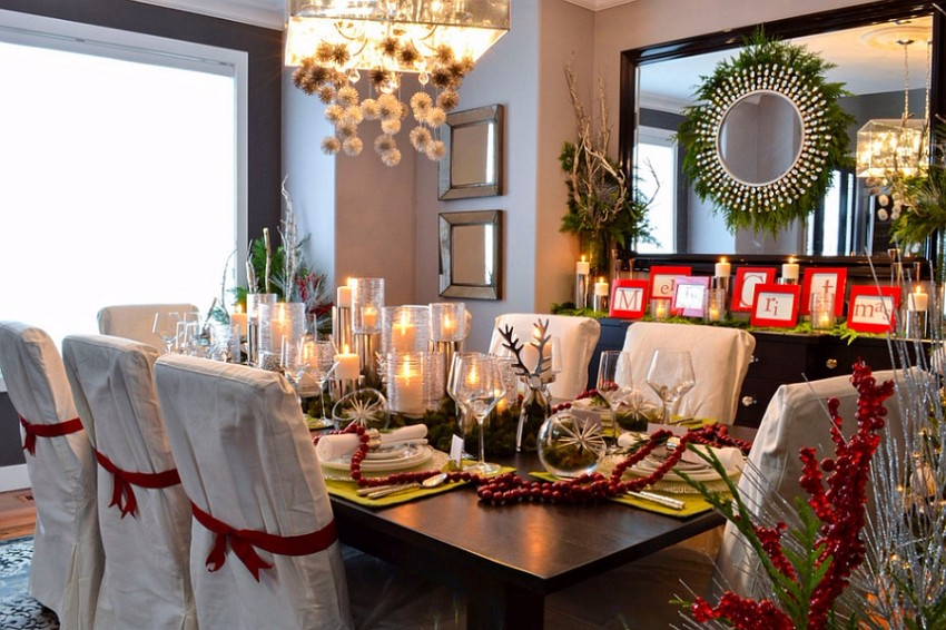 Red And Green Dining Rooms Red And Green Dining Room Holidayu0027s Decoration  Secrets: Red And