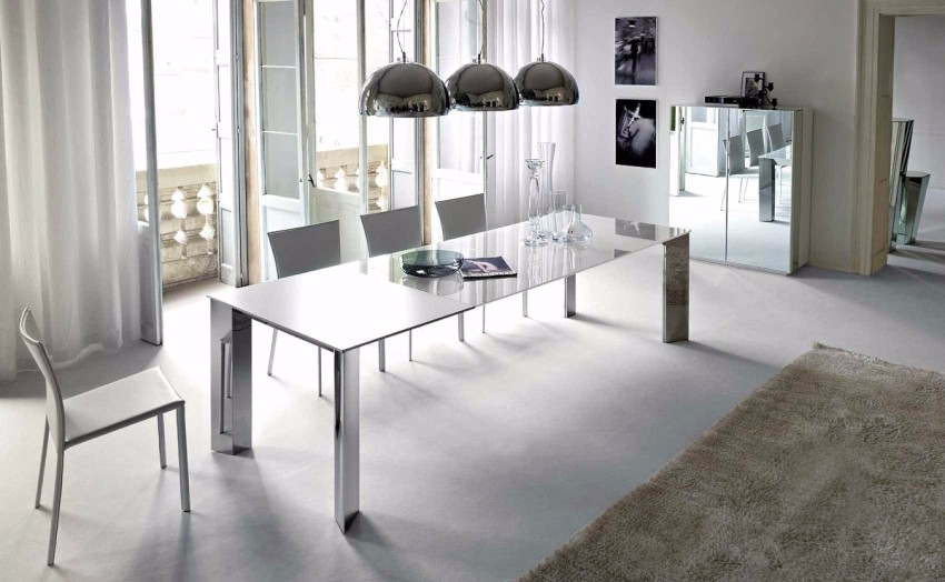 minimalist dining room 15 Minimalist Dining Room Ideas: Decoration Tips for Clean Interiors big 583e693603b16