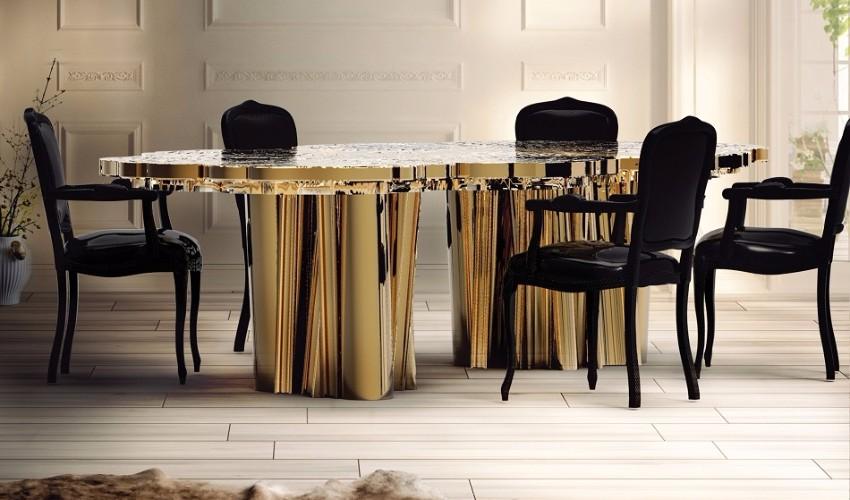 maison et objet maison et objet Modern Dining Tables you Can See at Maison et Objet fortuna 03