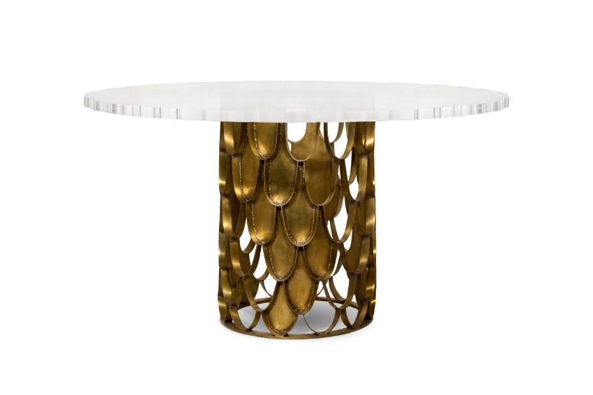maison et objet Maison et Objet Preview – Modern Dining Tables in Exhibition koi 1
