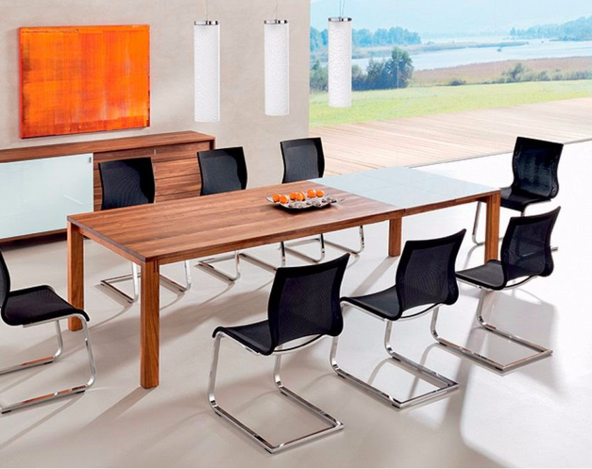 wooden dining tables wooden dining tables Striking Wooden Dining Tables to Charm the Dining Area meja makan sederhana
