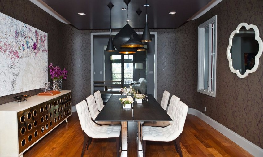gray dining room gray dining room The Finest Gray Dining Rooms for your House modern stackable dining room chairs and modern gray dining room walls ideas from san francisco
