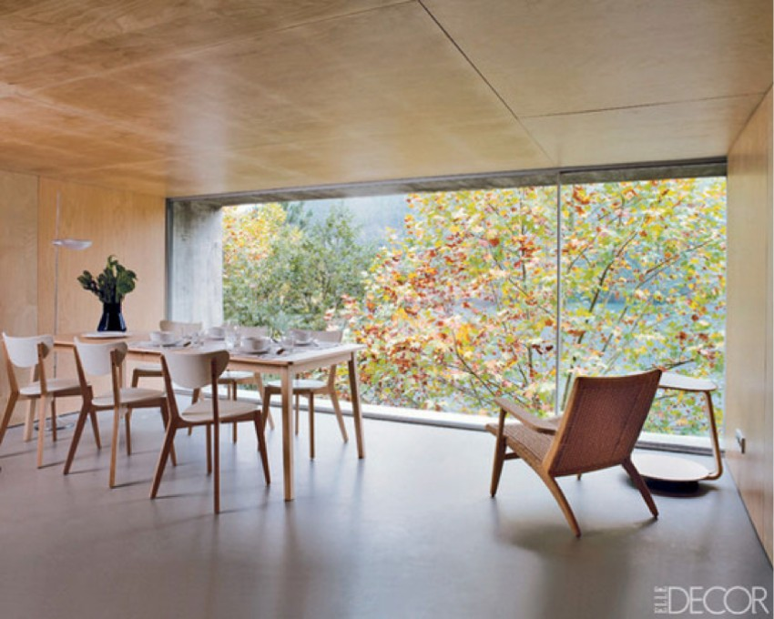 minimalist dining room 15 Minimalist Dining Room Ideas: Decoration Tips for Clean Interiors streamline your design elledecorapartmenttherapy
