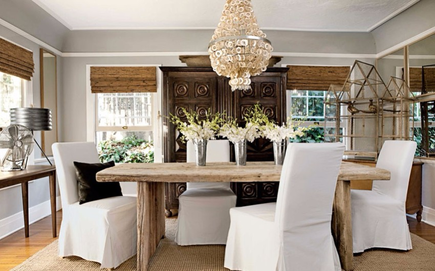 chandelier 30 Modern Dining Rooms with Magnificent Chandeliers 05 hbx z gallerie abalone chandelier tobin 0513 xln 2
