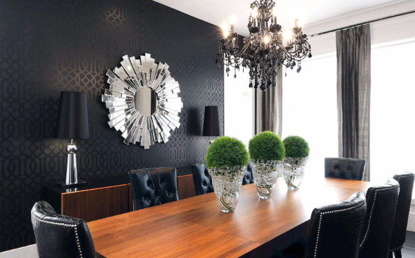wallpaper wallpaper How to Decorate the Dining Room with a Dazzling Wallpaper 1 8