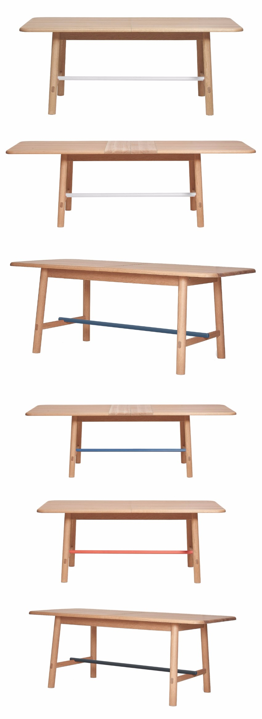 table Hélène Table and Hector Bench by HARTÔ  1 down