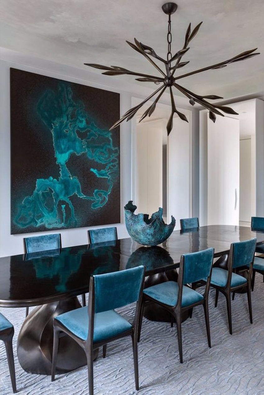 dining table Fall In Love With These Season Dining Tables 10 Gorgeous Black Dining Tables for Your Modern Dining Room 9