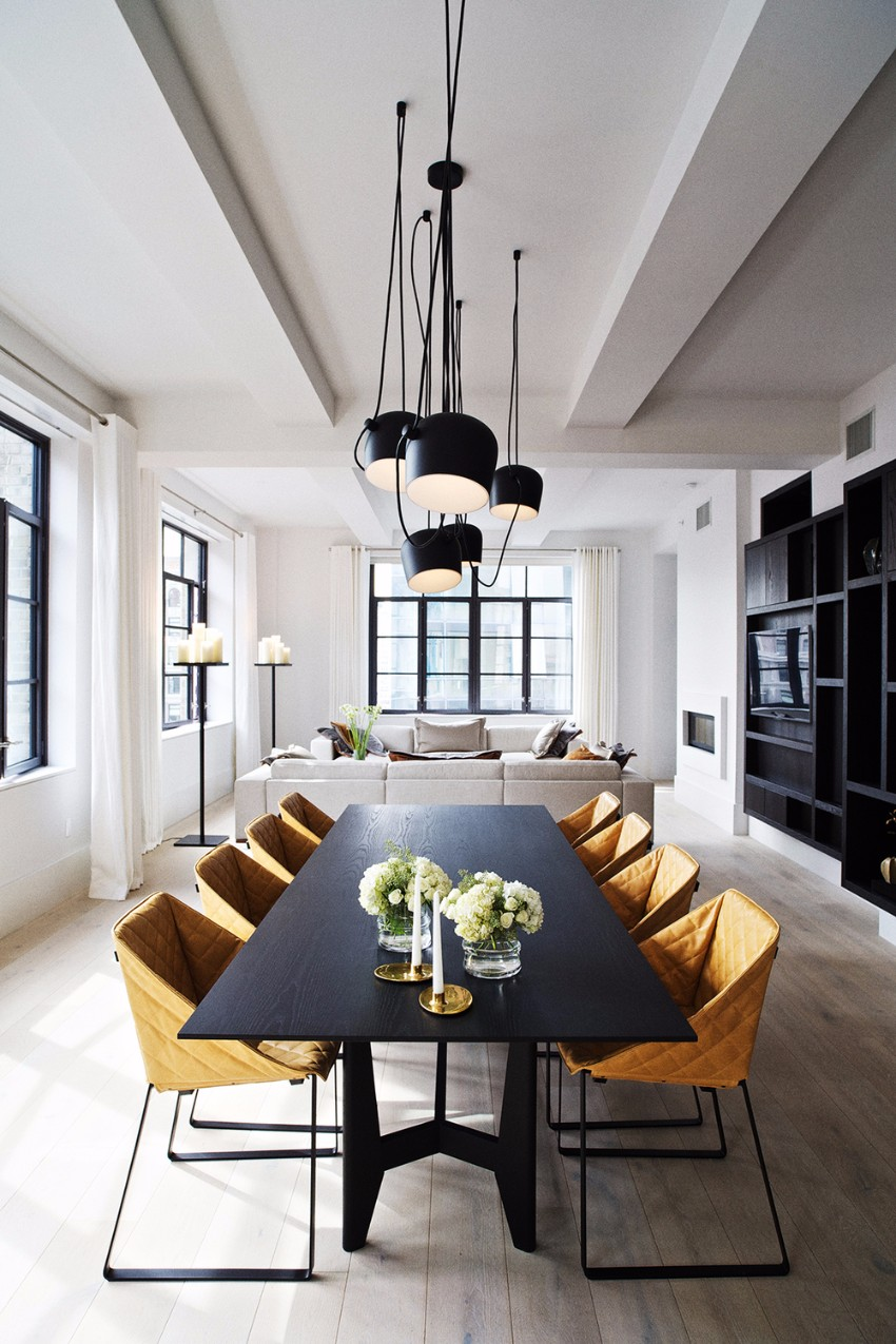 dining table Fall In Love With These Season Dining Tables Black Dining Tables That Will Make You Host a Dinner minimalist dining room ideas Best Paint Colors for Dining Room
