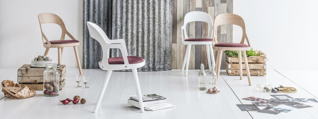 Colibri chair the impeccable nordic dining chair for High chair net catcher