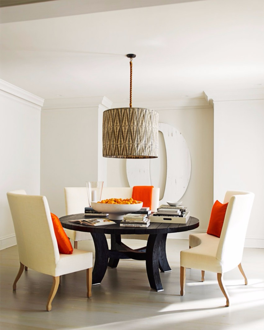 chandelier 30 Modern Dining Rooms with Magnificent Chandeliers Unique Drum Light Dining Room Lighting Ideas 1