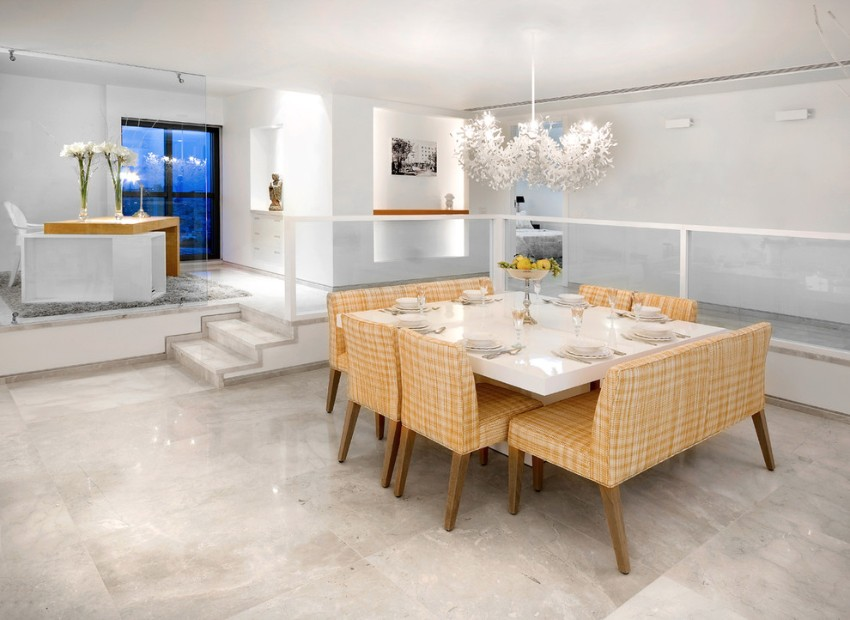 10 Superb Square Dining Table Ideas For A Contemporary: 10 Impressive Contemporaneous Dining Room Ideas