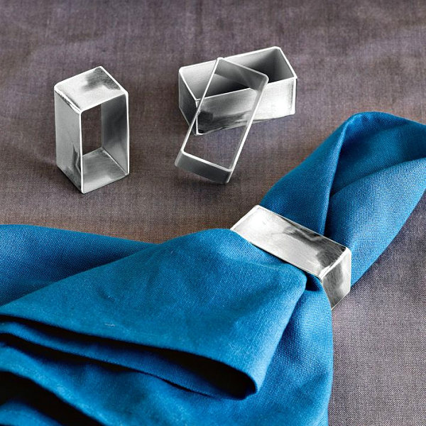 napkin rings Sophisticated Napkin Rings To Your Tabletop napkin rings inspiration 13