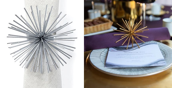 napkin rings Sophisticated Napkin Rings To Your Tabletop napkin rings inspiration 15