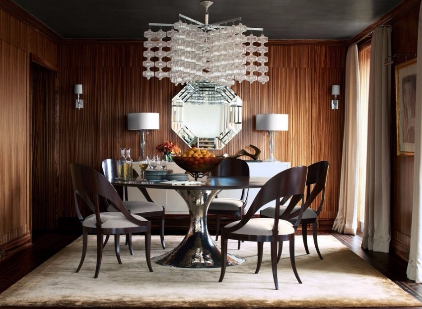chandelier 30 Modern Dining Rooms with Magnificent Chandeliers wonderful modern dining room lighting ideas