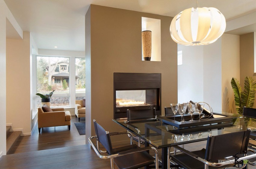 fireplace The Finest Fireplaces For Your Modern Dining Room 12225